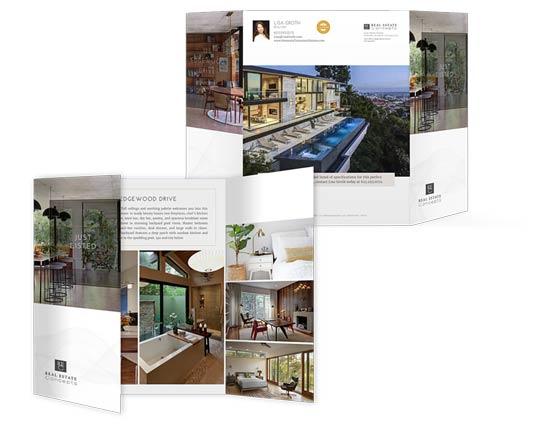 11×17 Property Brochures</br>(Gatefold) $1.79 - $2.19 each
