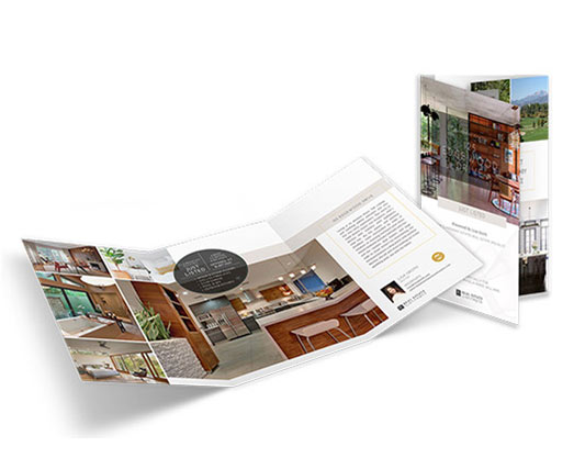 11×21 Property Brochures</br>(Trifold) $2.09 - $2.49 each
