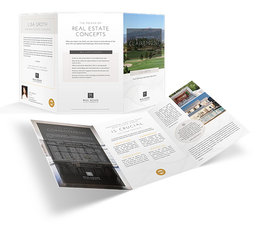 11 x 21 Trifold Referral Brochures</br> $2.09 - $2.49 each