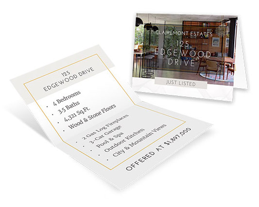 6.25×4.25 Mini Brochures</br>$0.30 - $0.35 each