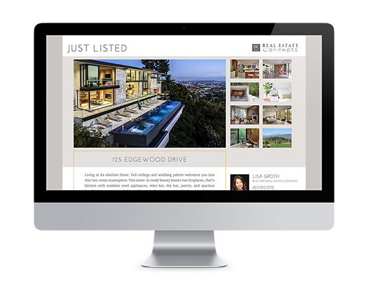 Property Websites</br>$95.00 Setup</br>$19.50 per Month