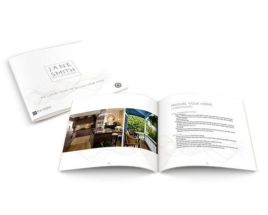 Seller's Guide</br>11×10 Soft Cover</br>$19.95 - $49.95 each