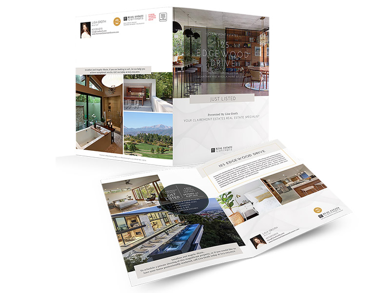 11×17 Property Brochures</br>(Portrait) $1.49 - $1.99 each