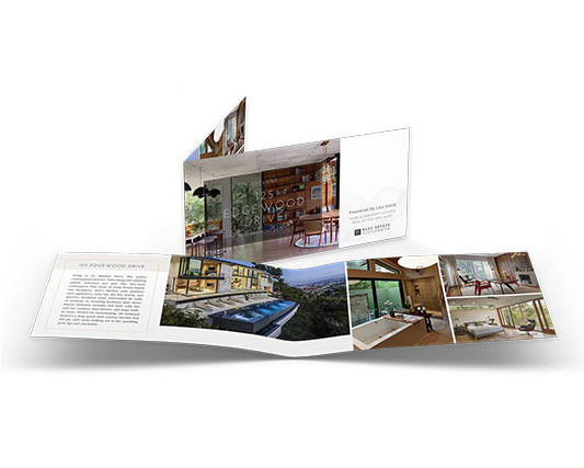 5.5×22 Property Brochures</br>(Landscape) $1.29 - $1.69 each