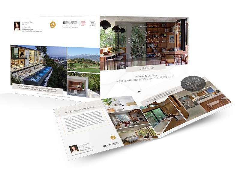 8.5×22 Property Brochures</br>(Landscape) $1.59 - $2.09 each