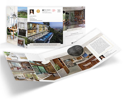 9×21 Property Brochures</br>(Trifold)$1.89 - $2.29 each