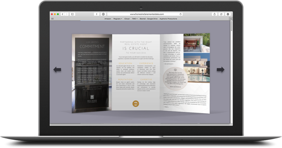 Digital Personal Brochures</br>$95.00 each