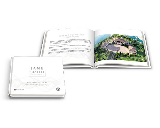 Pre-listing Marketing Book</br>13×11 Hard Cover</br>$149.00 - $199.00 each