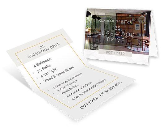 2.75×4.25 Mini Brochures</br>$0.30 - $0.35 each