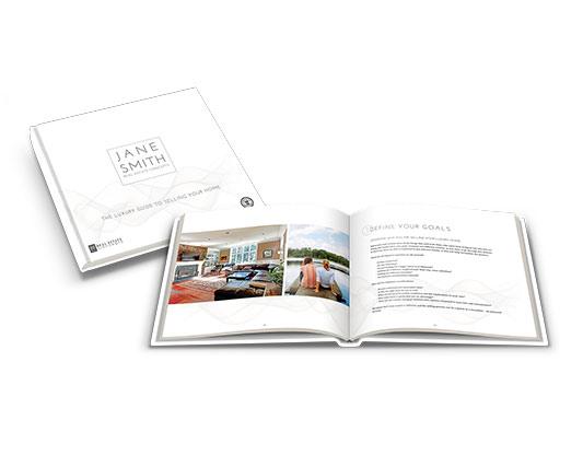 Seller's Guide</br>13×11 Hard Cover</br>$149.00- $199.00 each